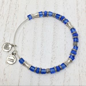 ALEX AND ANI RARE Sapphire Beaded 💫+ Free Gifts